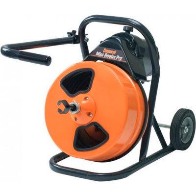 """Fil général MRP-D Mini-Rooter Pro vidange/nettoyage d'égouts Machine W/75 x 1/2 """"câble & 4 les jeu de fraises de Pc"""