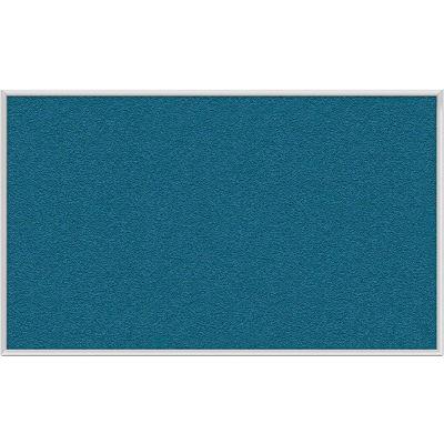 "Ghent Bulletin Board - Vinyl - Aluminum Frame - 36""W x 24""H - Ocean"