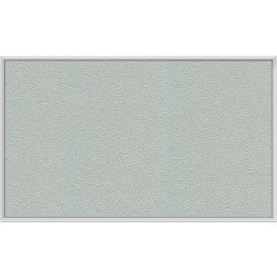"Ghent Bulletin Board - Vinyl - Aluminum Frame - 36""W x 24""H - Silver"
