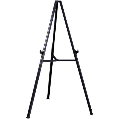 "Ghent Triumph Display Easel - Adjustable - 36""W x 24""H - Gray"