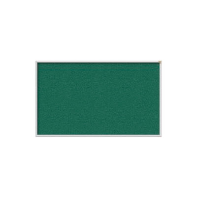 Ghent 3' x 5' Bulletin Board - Spruce Vinyl Surface - Silver Frame