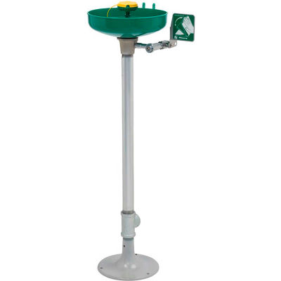 Haws®, 7261-7271, Pedestal Mounted Plastic Bowl Eye/Face Wash AXION® Eye/Face Wash Head