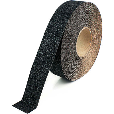 "Heskins Extra Coarse Anti Slip Tape, Black, 2"" x 60', 30 Grit"