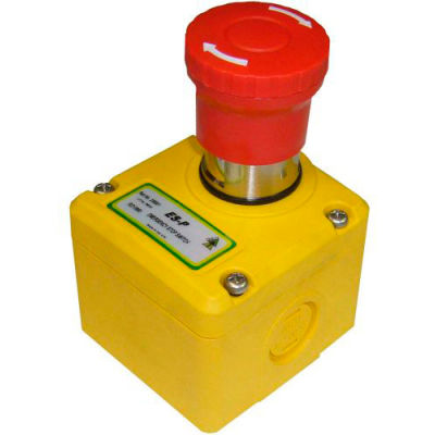 IDEM 230001 ES-P interrupteur d'arrêt d'urgence Knockout, 1/2NPT, 2NC 1NO, M20, Die Cast