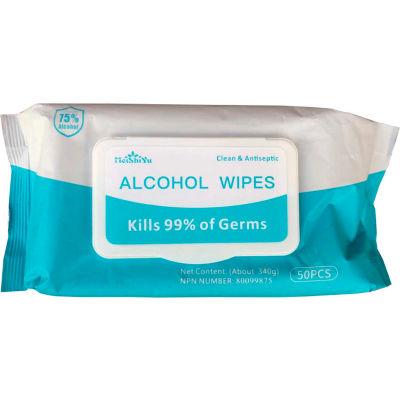 Meishiyu Sanitizer Wipes – 50 Wipes/Pack