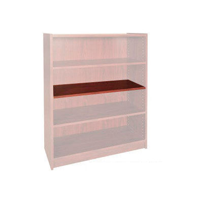 "Extra Shelf - 34-1/2""W x 11-1/2""D x 3/4"" Thick for Adj. Bookcase Mahogany"