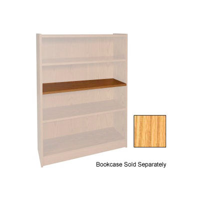 "Extra Shelf - 34-1/2""W x 11-1/2""D x 3/4"" Thick for Adj. Bookcase Natural Oak"