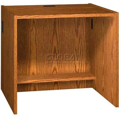 "36"" x 32"" Desk Shell - 36""W x 30-1/8""D x 32-1/8""H Oak"