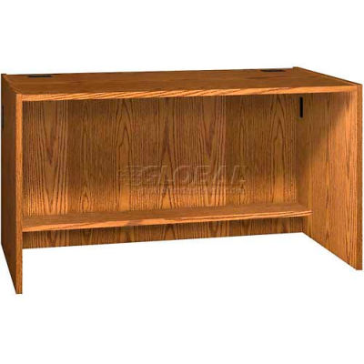 "60"" x 32"" Desk Shell - 60""W x 30-1/8""D x 32-1/8""H Oak"