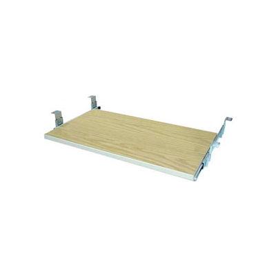 "Keyboard Shelf for CDC - 27-5/8""W x 16""D x 4""H Amber Ash"
