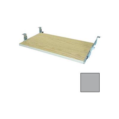"""Keyboard Shelf - 29-3/4""""W x 16""""D x 4""""H Gray"""