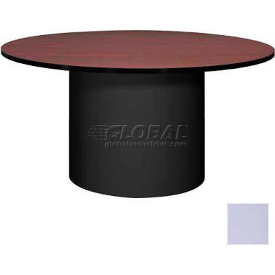 "Ironwood 60"" Round Conference Table Folkstone Gray Top/Gray Base"