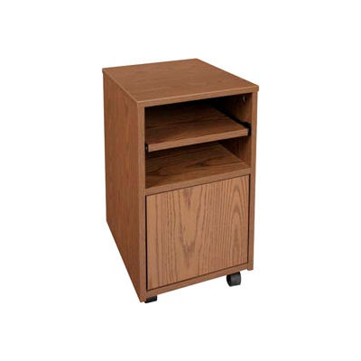 "Ironwood Fax Stand, 16""W x 20""D x 26-3/8""H, Medium Oak"