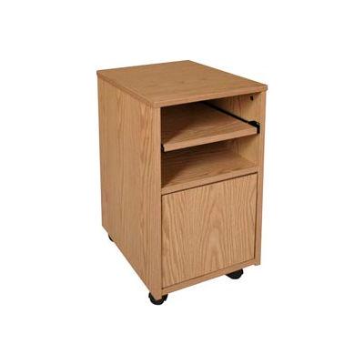 """Ironwood Fax Stand, 16""""W x 20""""D x 26-3/8""""H, Natural Oak"""