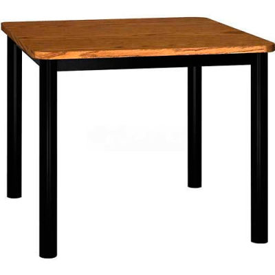 """Square Library Table - 36""""W x 36""""D x 29""""H Oak"""