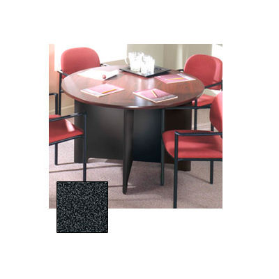 """Ironwood 48"""" Conference Table - 48""""W x 48""""D x 28-5/8""""H Black Granite"""