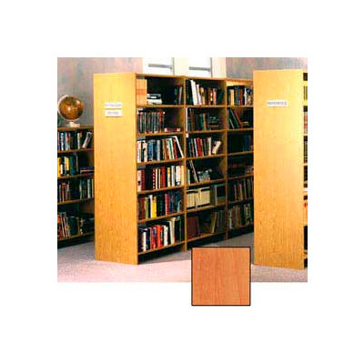 "84"" Double Face Shelving Base - 37""W x 24""D x 83-3/4""H Oiled Cherry"