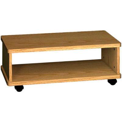 "Ironwood Printer Wagon, 32""W x 15-7/8""D x 12-1/8""H, Natural Oak"