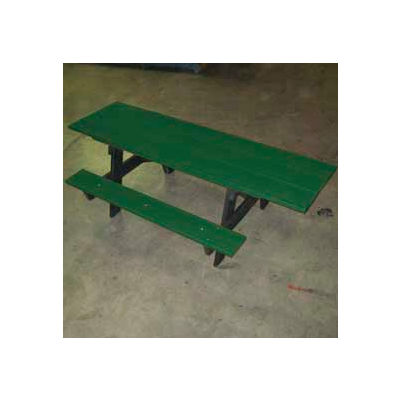 Frog Furnishings Recycled Plastic 8 ft. A-Frame Table, ADA, Green