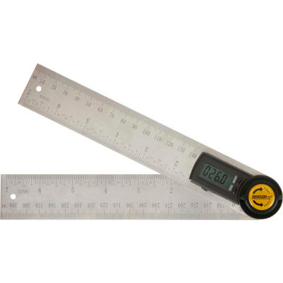 "Johnson Level 1888-0700  7"" Digital Angle Locator and Ruler"