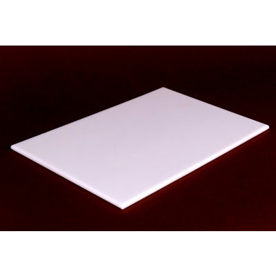 Reversible White Poly Cutting Board 24X18