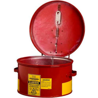Justrite Dip Tank, 1-Gallon, Red, 27601