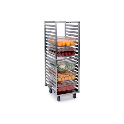 Lakeside® 166 Box And Steam Table Pan Rack With Angle Ledges - 20 Pan