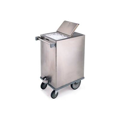 Lakeside® Stainless Steel Ice Cart - 125 Lb Capacity