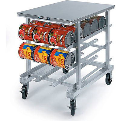 Lakeside® 348-Stainless Steel Top Counter Height Can Rack, 72(#10 Cans), 96(#5 Cans)