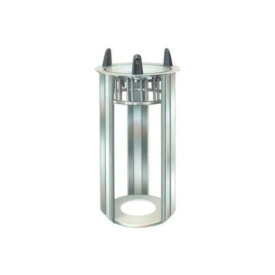 """Lakeside® 4012, Round Open Drop-In Plate Dispenser - 11-1/4"""" To 12-1/4"""" Plates"""