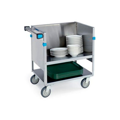 """Lakeside® 407 Open Store N Carry Dish Truck - 200 9"""" Plates"""