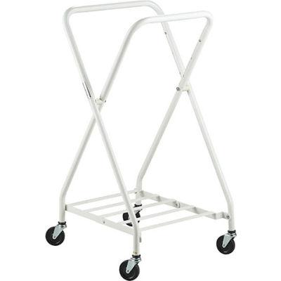 Lakeside® 4518 Adjustable Folding Linen Hamper, White