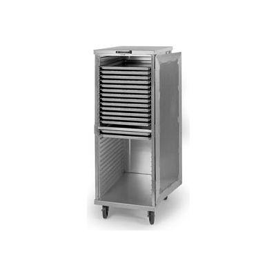 "Lakeside® 5527 - Transport Cabinet, Aluminum, 20 Tray Capacity, 20-3/4""W x 27-1/2""D x 38""H"