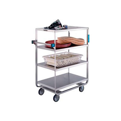 Lakeside® 561 NSF HD Stainless Steel 4 Shelf Truck 3 Edges Up 700 Lb Cap