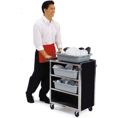 "Lakeside® 615BL 4 Shelf  Bussing Cart -  27-3/4""Wx16-1/2""Dx32-3/4""H"