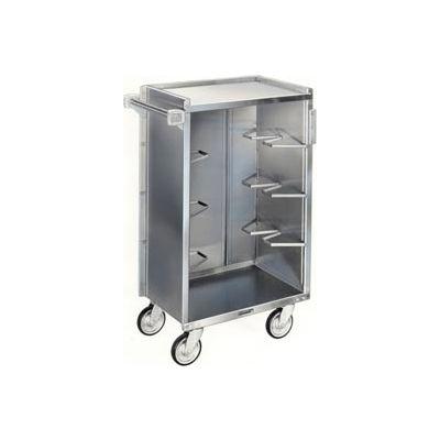 Lakeside® 815BL 4 Shelf Md Bussing Cart - 28-1/4X16-7/8 Black
