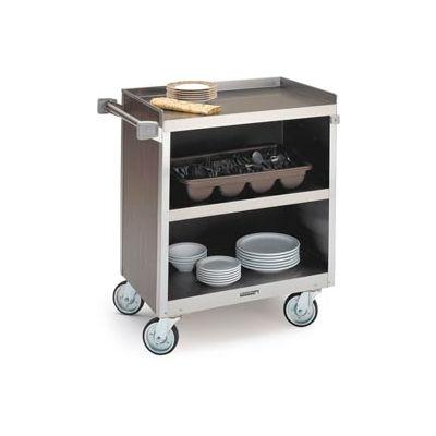 Lakeside® 822 3 Shelf Hd Bussing Cart - 31-1/4X19-1/2 Walnut