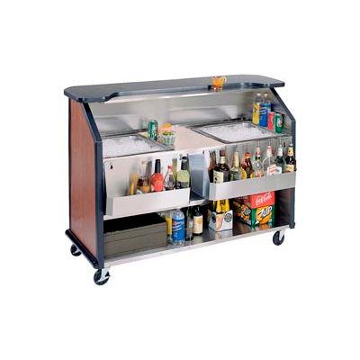 Party Pleaser Bar - 2 Ice Bin - Blue