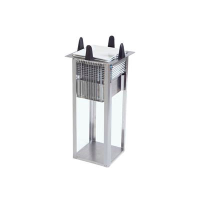 """Lakeside® S4007, Square Open Drop-In Plate Dispenser - 6-1/4"""" To 7-1/2"""" Plates"""