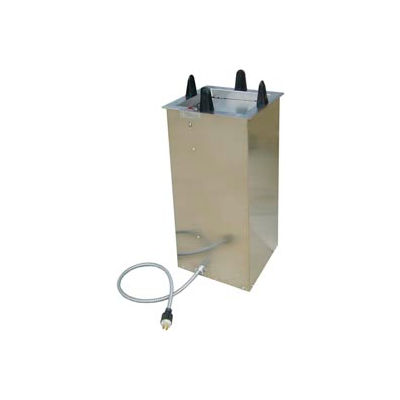 """Lakeside® S6010, Square Heated Drop-In Plate Dispenser - 9-1/2"""" To 10-1/4"""" Plates"""