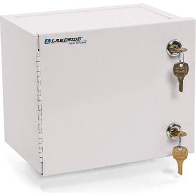 Lakeside® Compact Narcotic Cabinet, Single Door/Double Lock, Beige