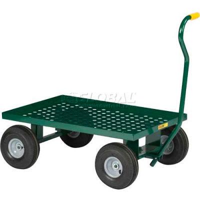 Little Giant® Nursery Wagon LWP-2436-10-G Perforated Steel - 36 x 24 Deck 1200 Lb. Cap.