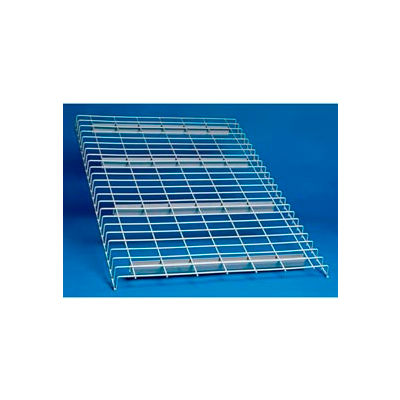 "Wire Decking Panel For Pallet Rack, 58""Wx48""D, 2500# Capacity, Gray"