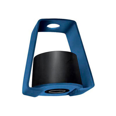 """LDS Rubber Vibration Isolation Hanger - 2""""L x 2-1/4""""W x 2-3/4""""H Black"""