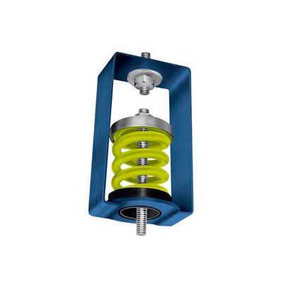 """Spring Vibration Isolation Hanger - 2-3/4""""L x 3-3/4""""W x 5-3/4""""H Brown"""