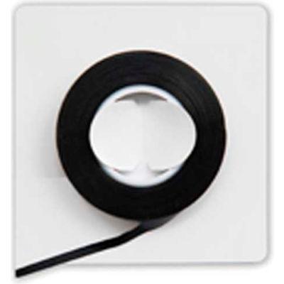 """Magna Visual® Vinyl Chart Tape, 324""""L x 1/8""""W, Black"""