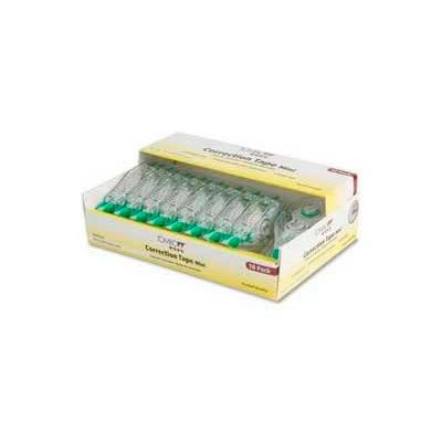 Tombow® Mono Mini Correction Tape, Single-Line, Non-Refillable, 1/6 in x 315 in, White, 10/PK