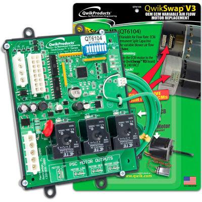 QwikSwap™ V3 Universal Variable Airflow ECM replacement board, QT6104