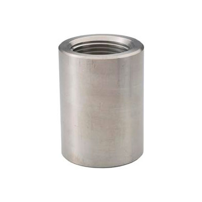 """Ss 304/304l Forged Pipe Fitting 3/4"""" Coupling Npt Female - Pkg Qty 19"""