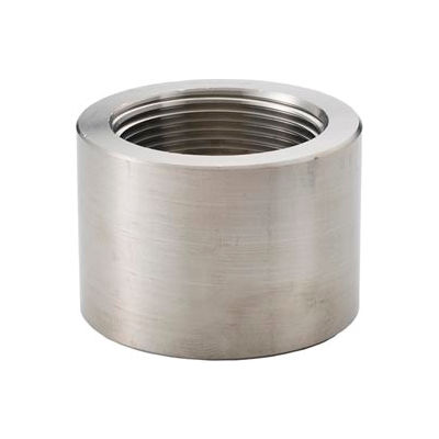 """Ss 304/304l Forged Pipe Fitting 1/2"""" Cap Npt Female - Pkg Qty 25"""